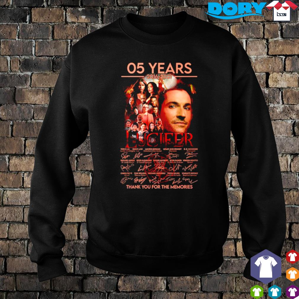 05 years of Lucifer 2016 2021 thank you for the memories s sweater
