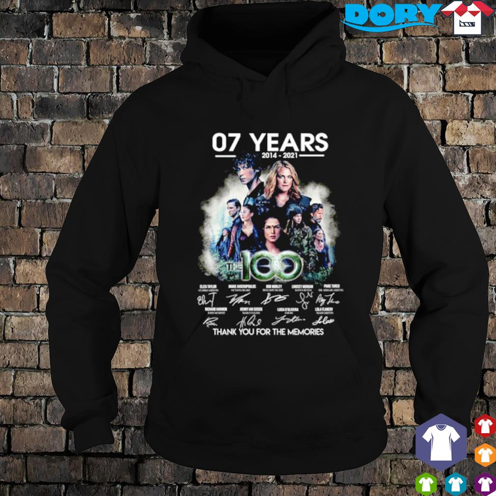 07 years of The 100 thank you for the memories s hoodie