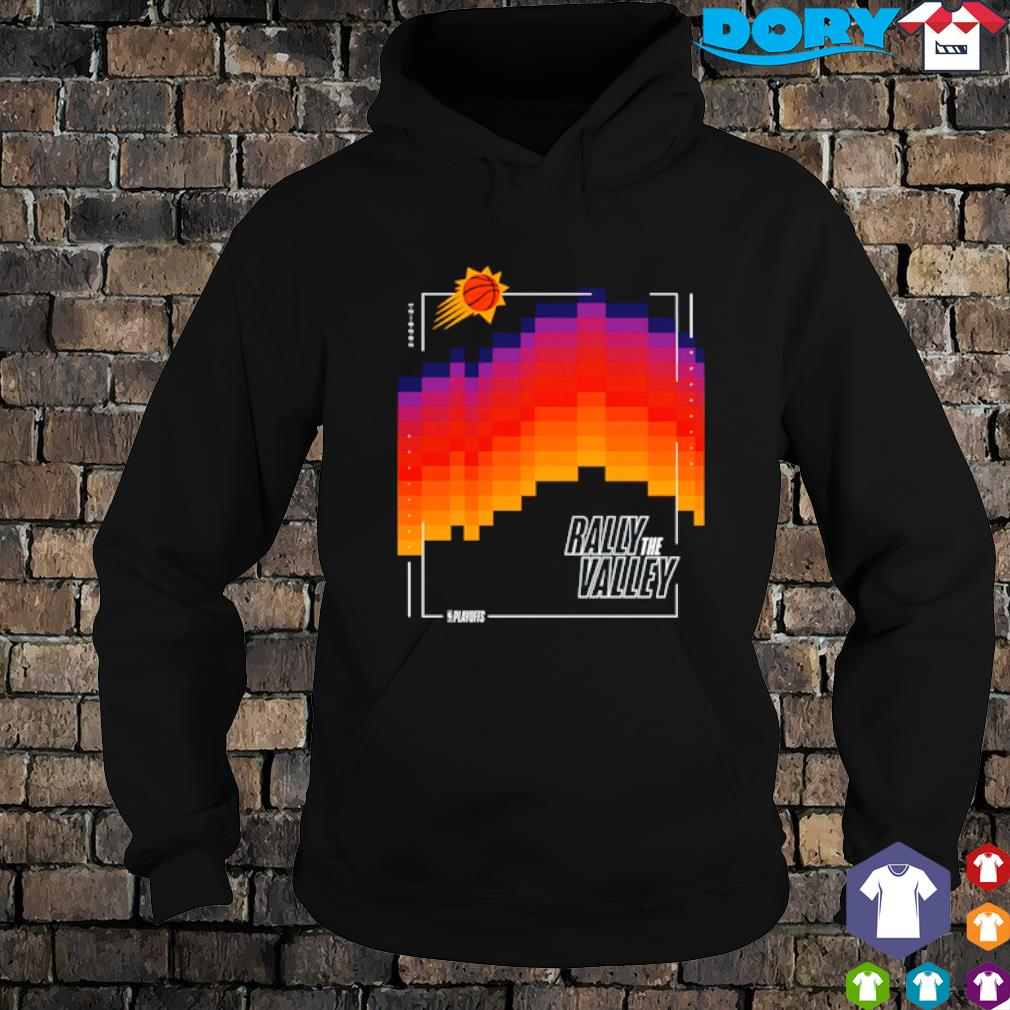 Phoenix Suns 2021 NBA Playoffs Rally The Valley s hoodie