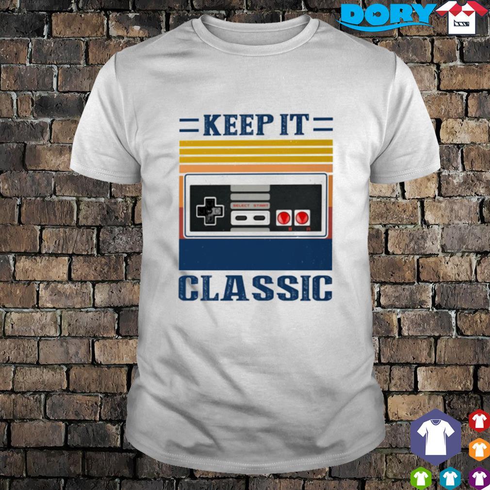 Cassette keep it classic vintage shirt