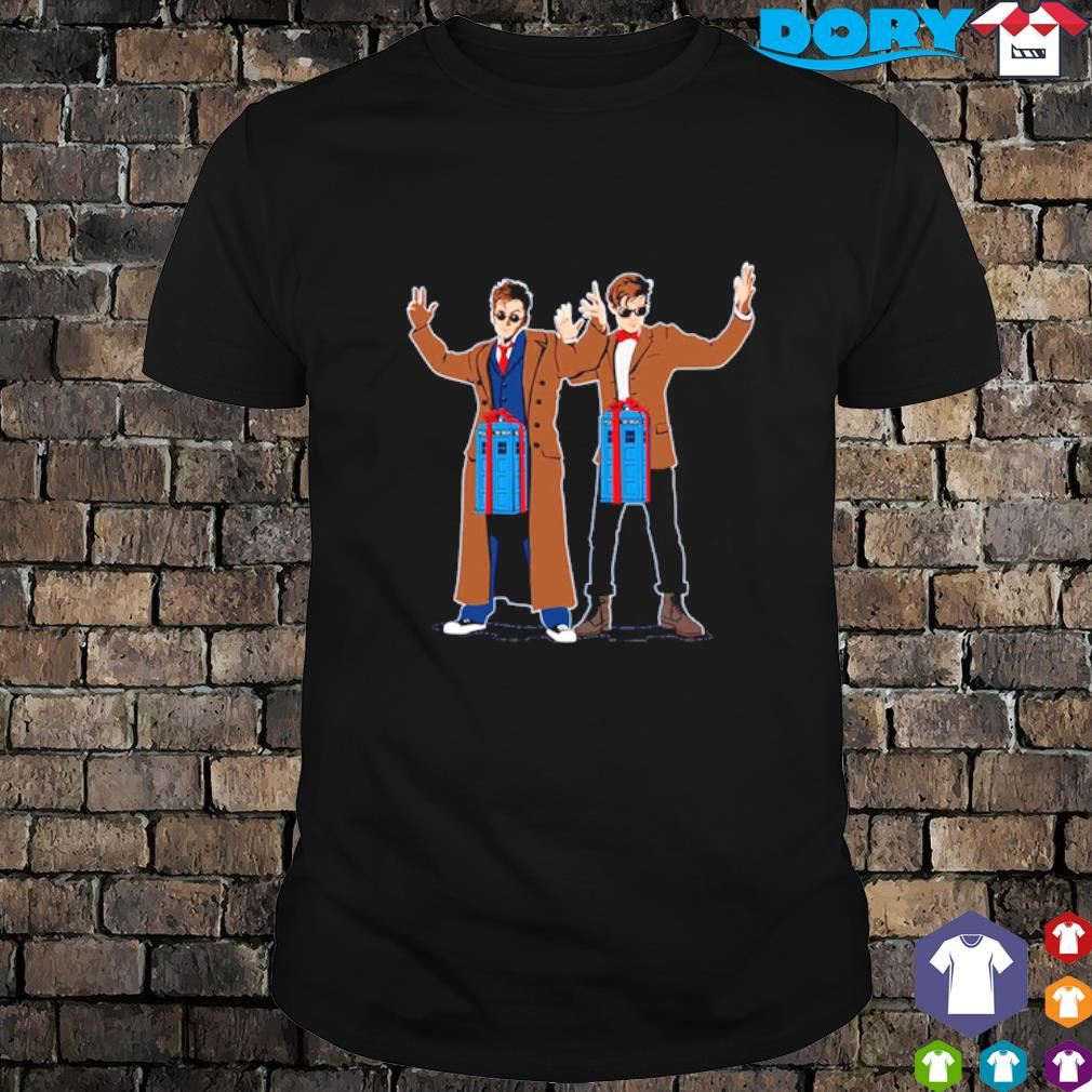Dr Who Dick in a Box shirt