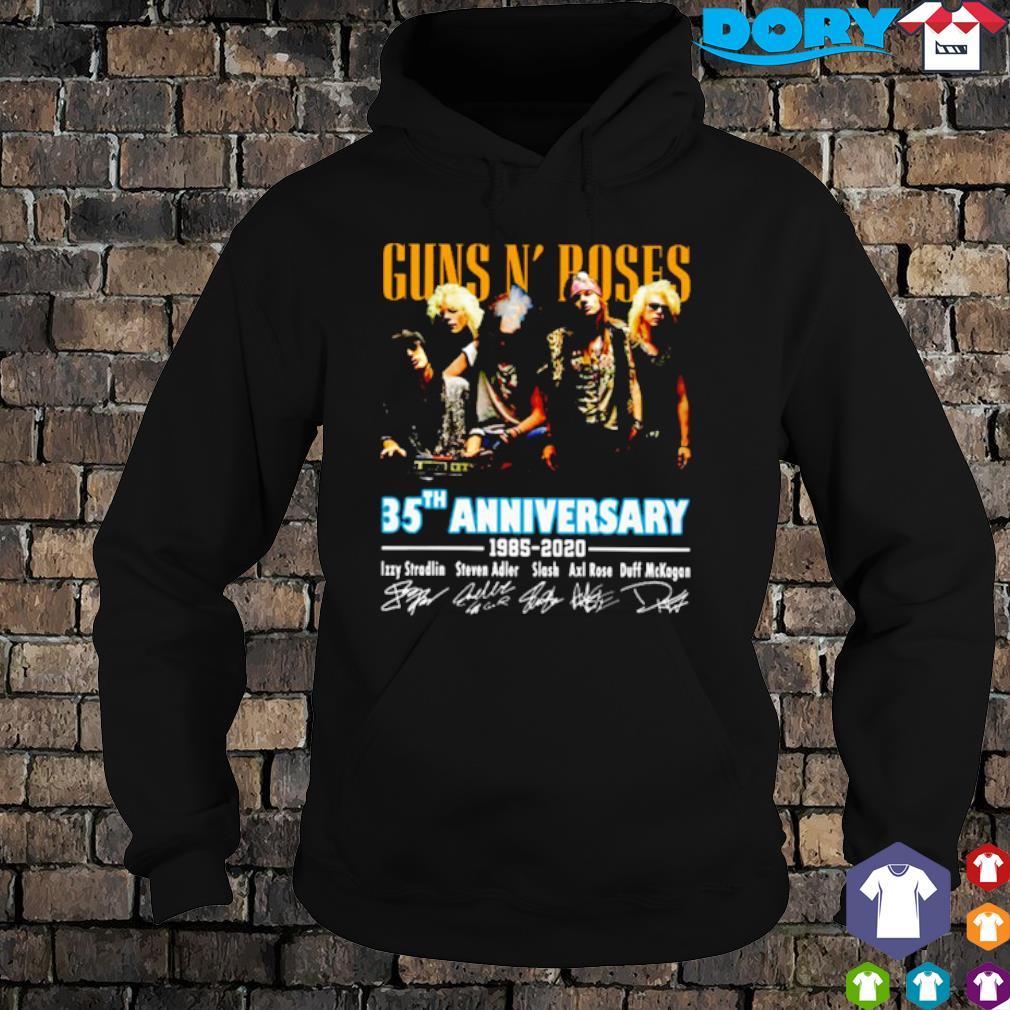 Gun N' Roses 35th Anniversary 1985 2020 signature s 7