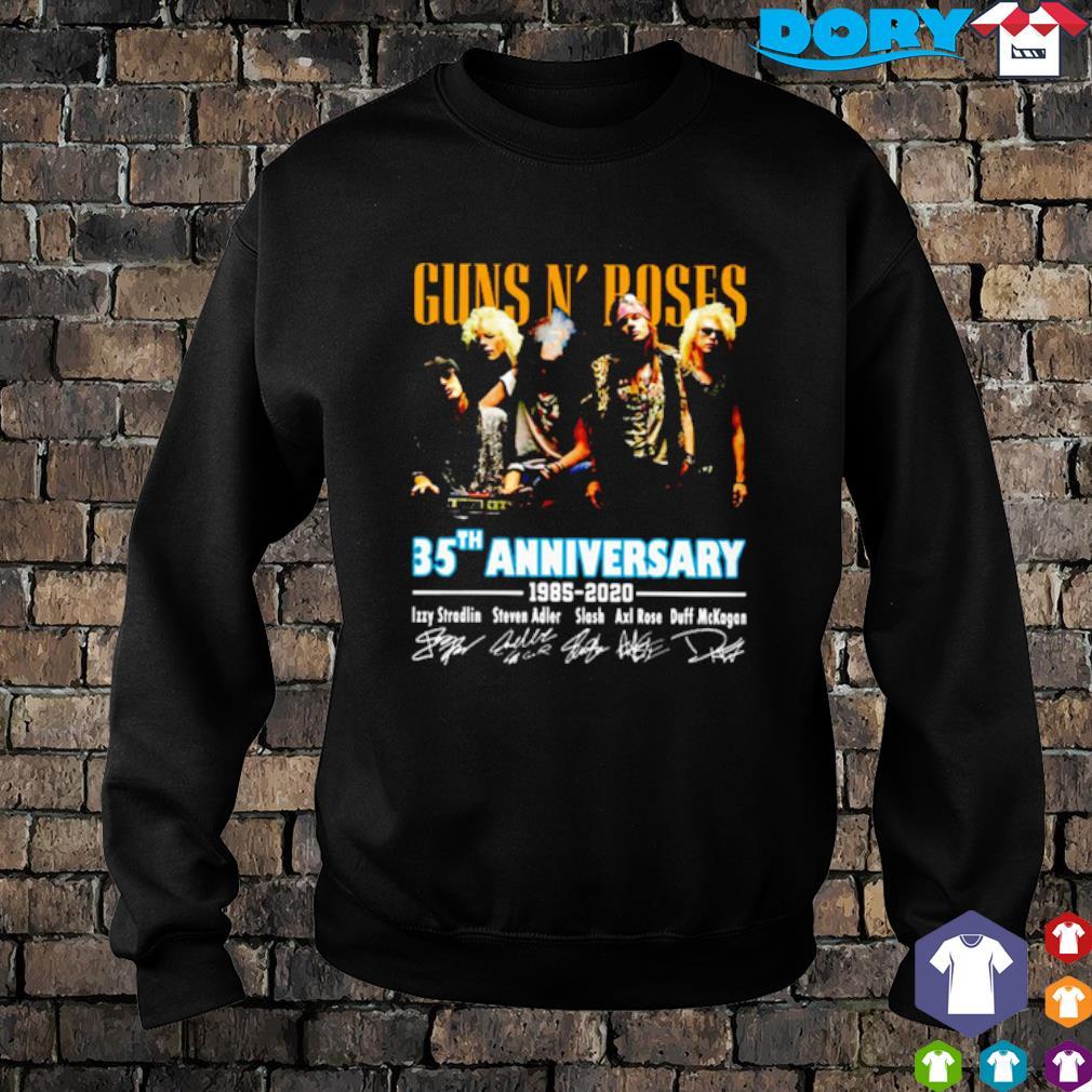 Gun N' Roses 35th Anniversary 1985 2020 signature s 9