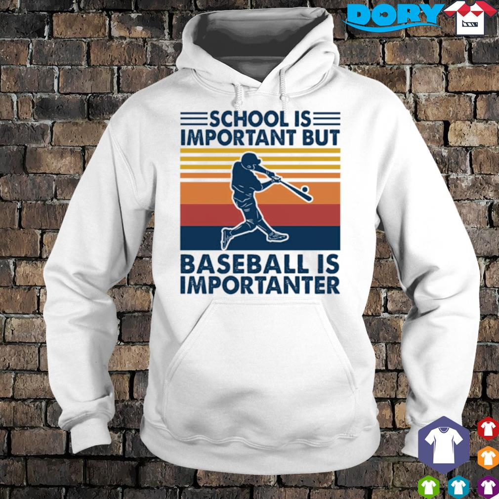 School is important but baseball is importanter vintage s 3