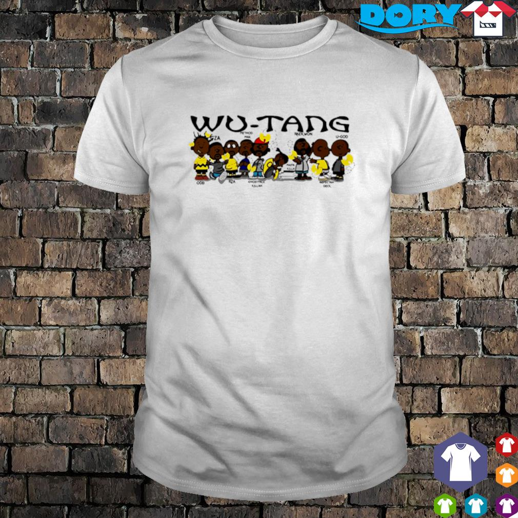 Wu-Tang clan members shirt