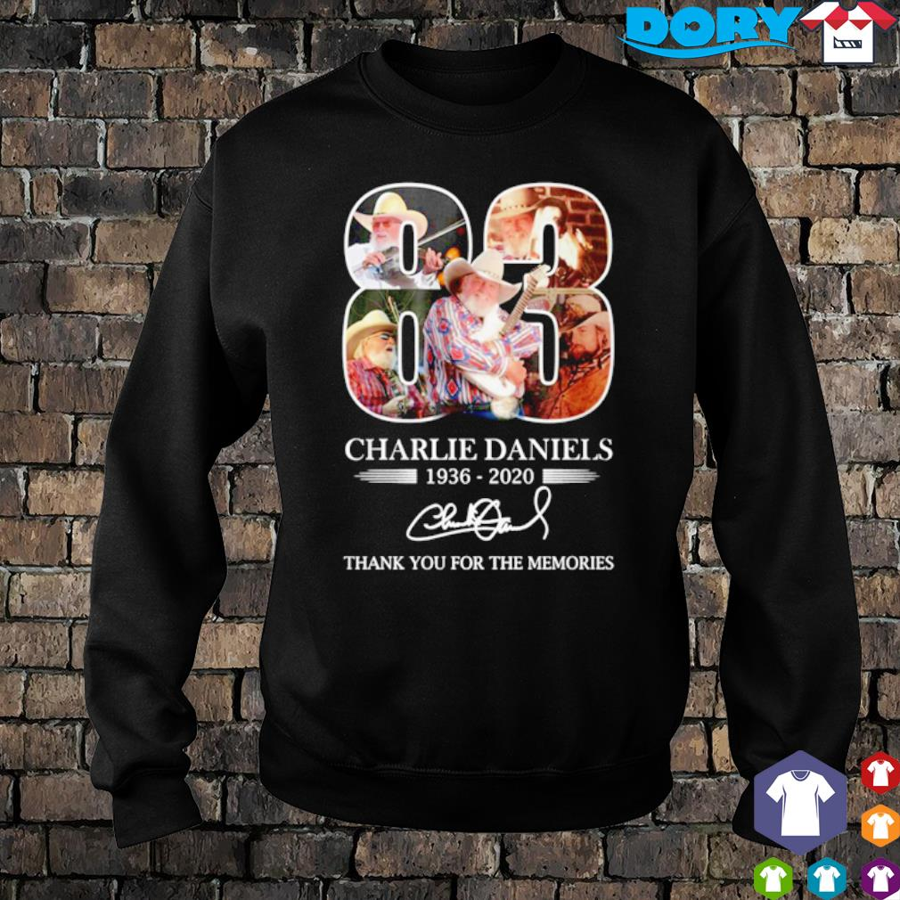 83 years of Charlie Daniels 1936 2020 thank you for the memories s sweater