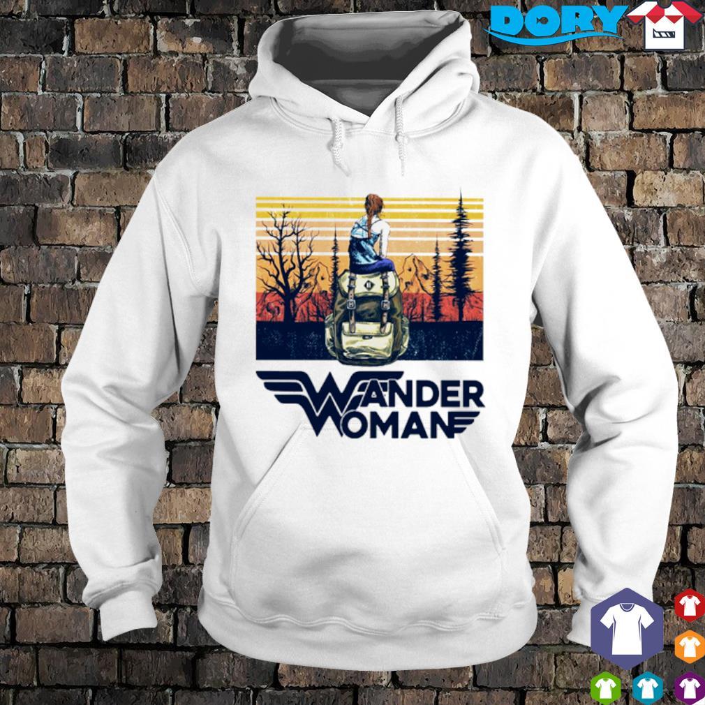 Camping Wander Woman vintage s hoodie