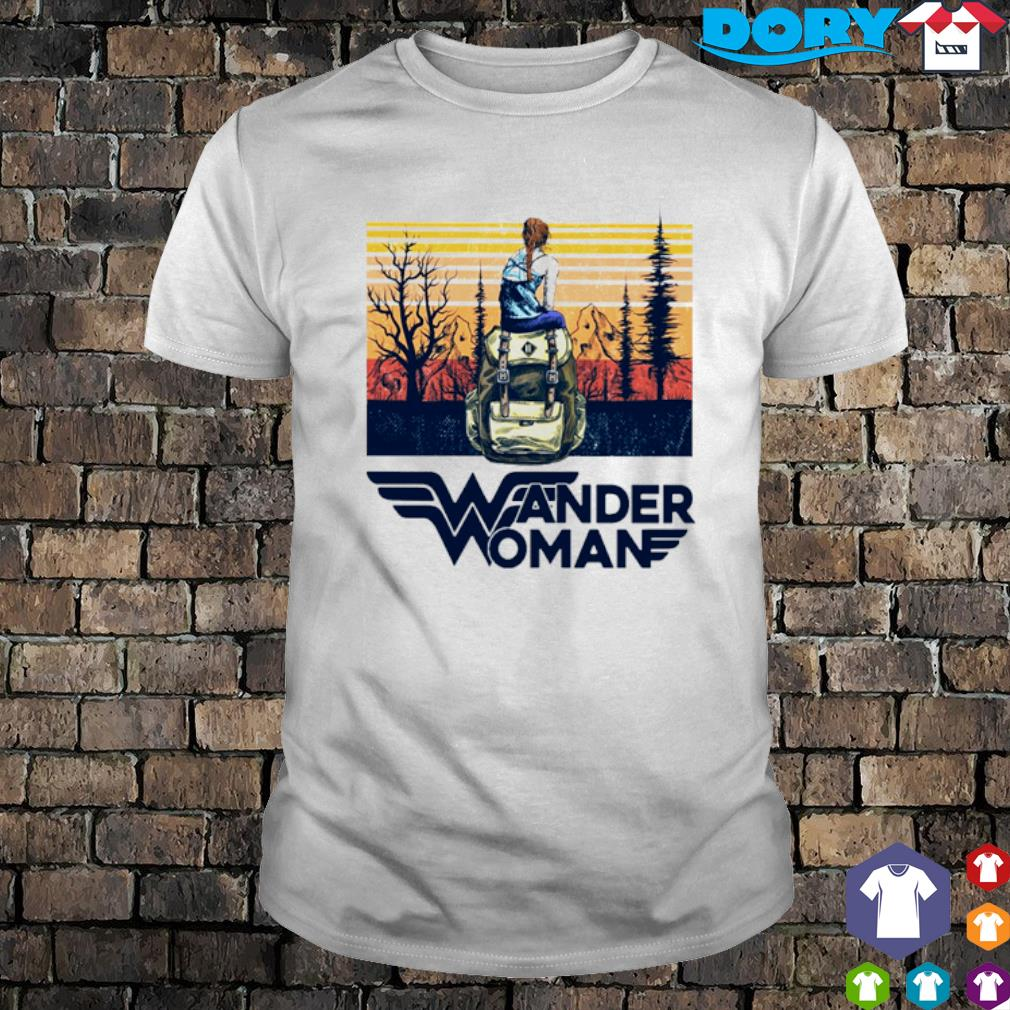 Camping Wander Woman vintage shirt