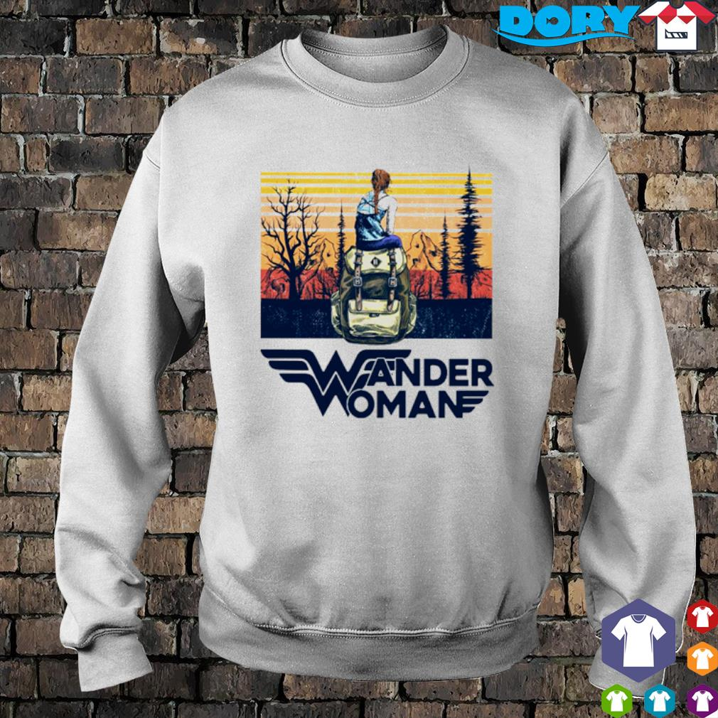 Camping Wander Woman vintage s sweater