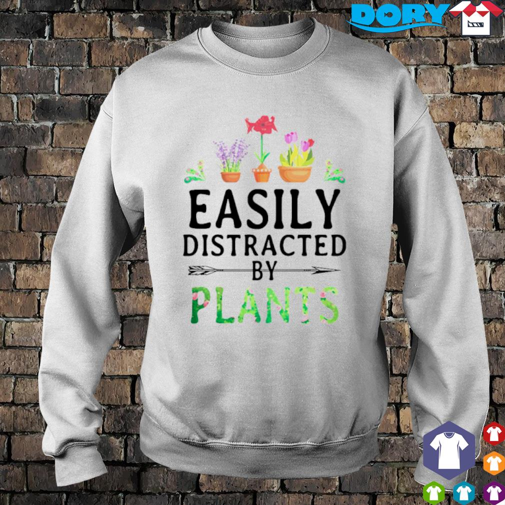Easily distracted by plants s sweater