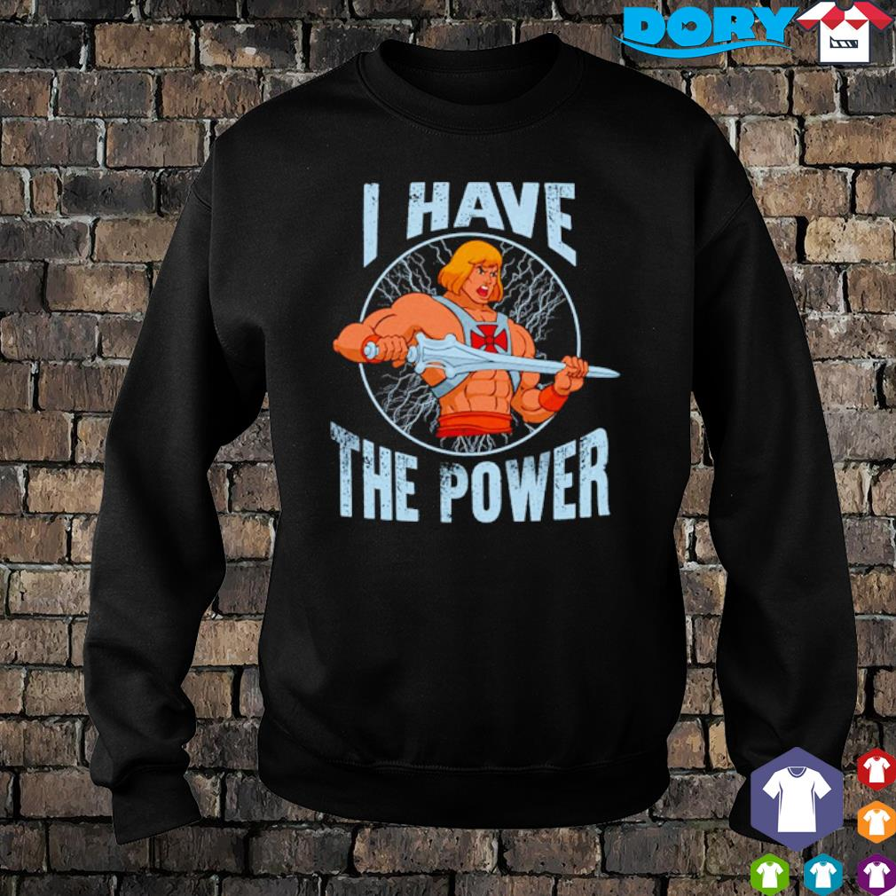 Heman I have the power s sweater