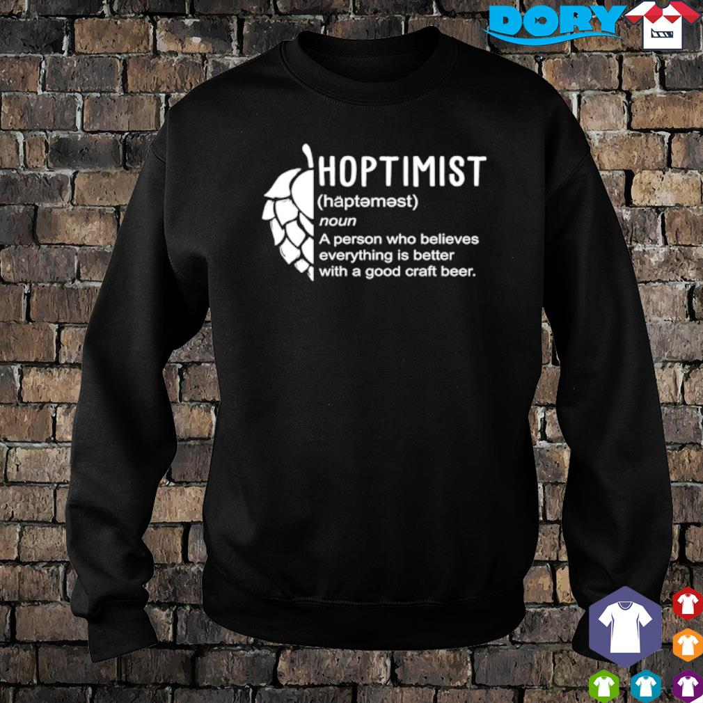 Hoptimist definition meaning s sweater