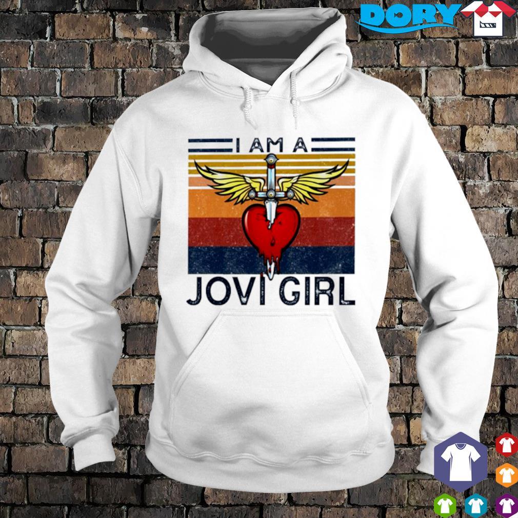 I am a Jovi Girl vintage s hoodie