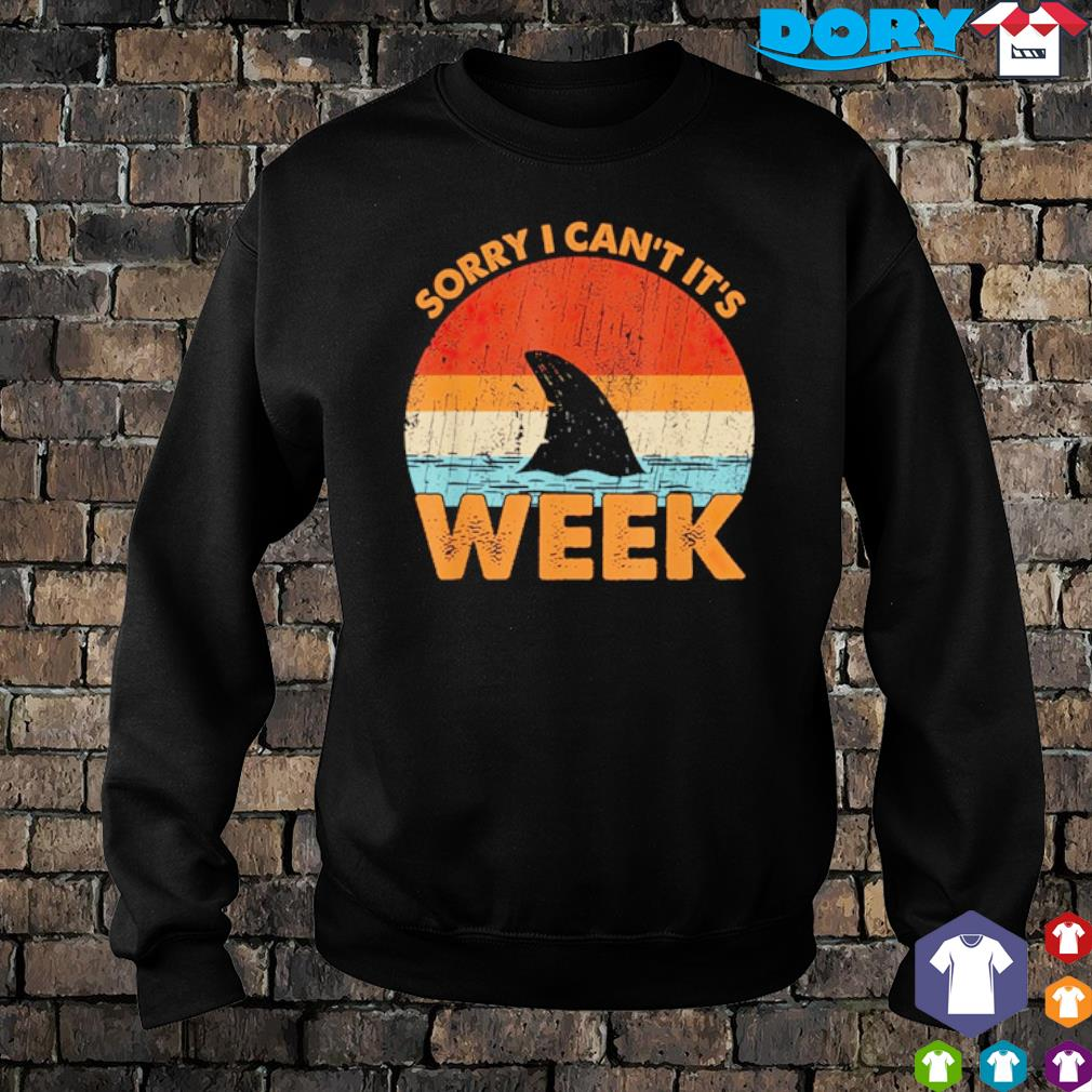 Shark sorry I can't it's week vintage s sweater