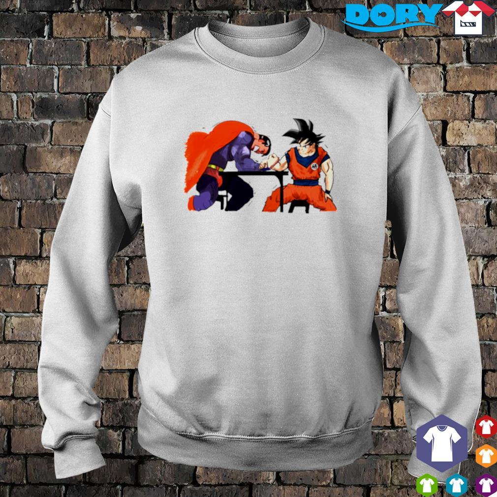 Son Goku vs Superman Arm-Wrestling s sweater