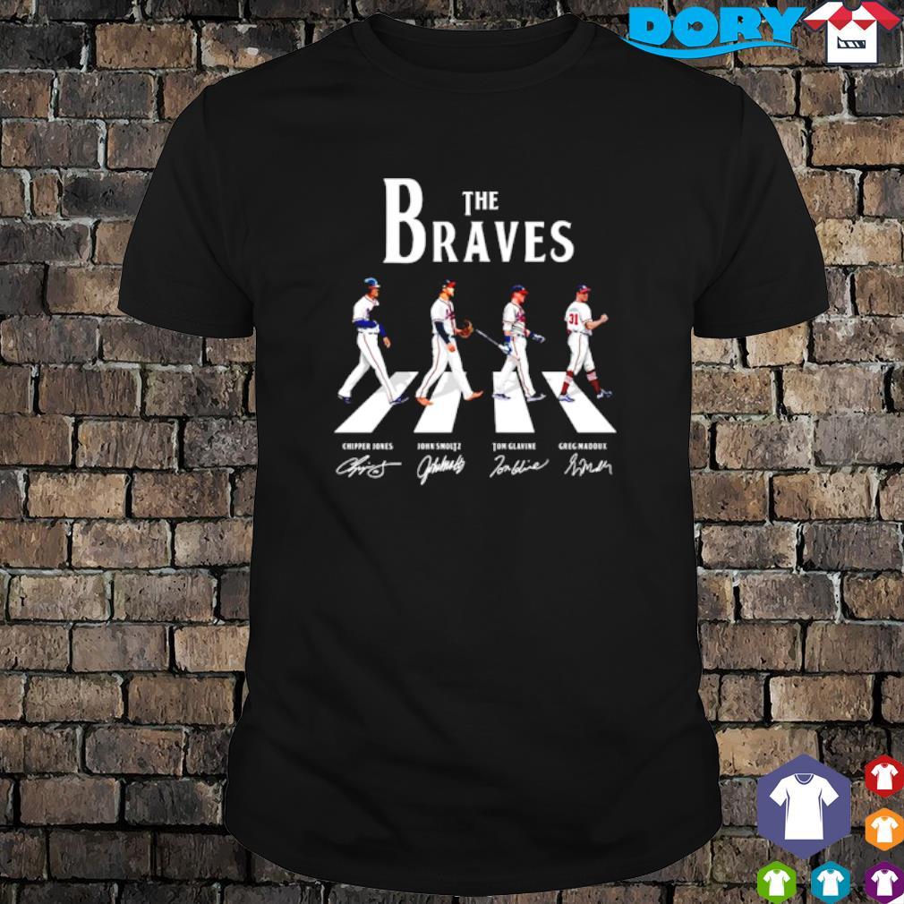 The Braves Walking Road signature Shirt
