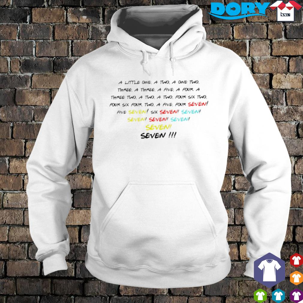 A little one a two a one two three a three a five s hoodie