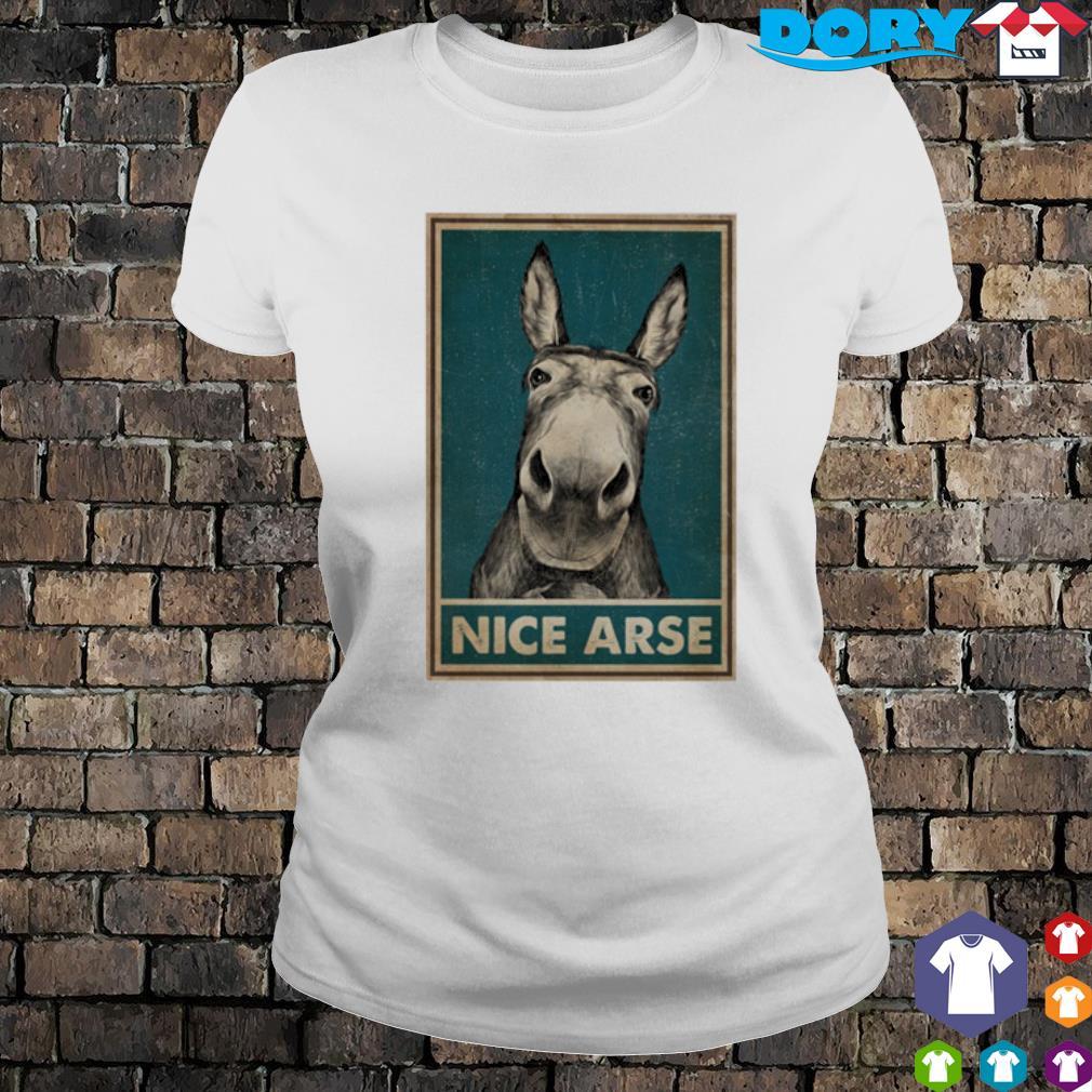 Donkey Nice Arse s ladies tee