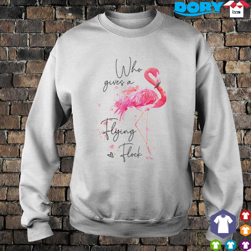 Flamingo who gives a flying flock s sweater
