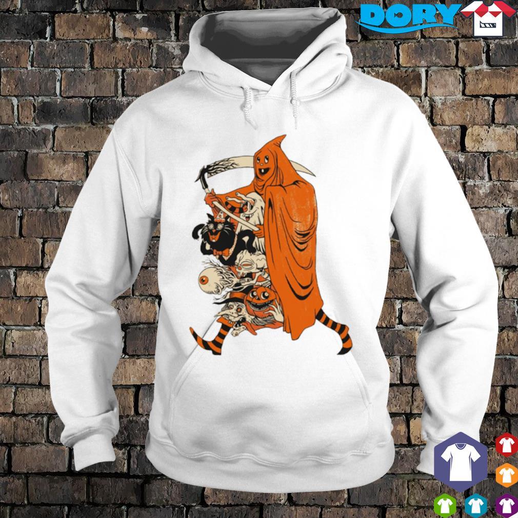 Saint devil pumpkin Halloween s hoodie