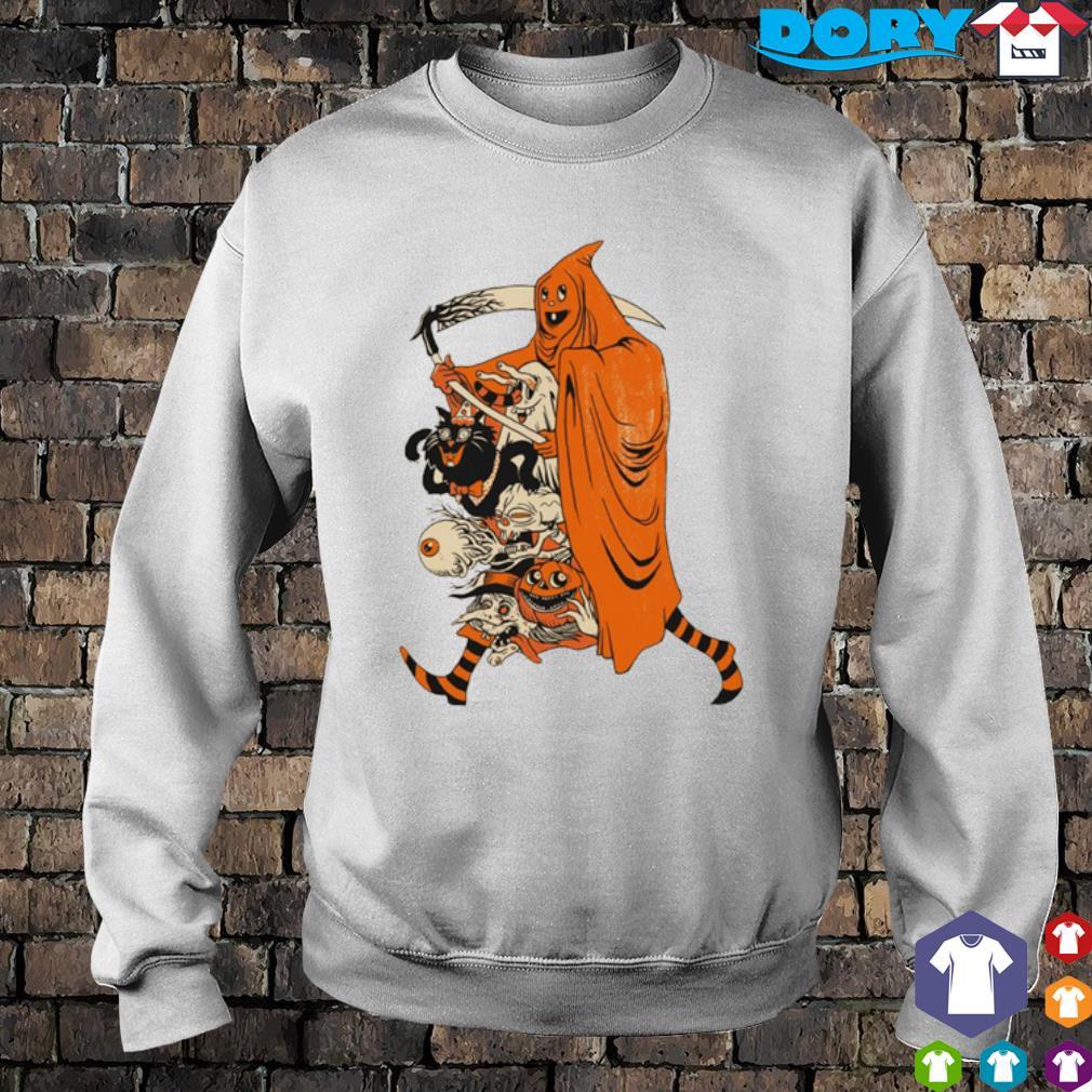 Saint devil pumpkin Halloween s sweater