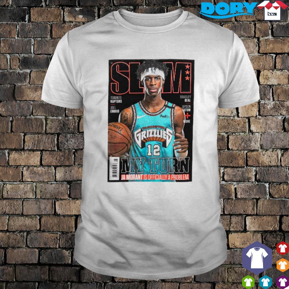 Slam Memphis Grizzlies Star Ja Morant Covers Slam shirt
