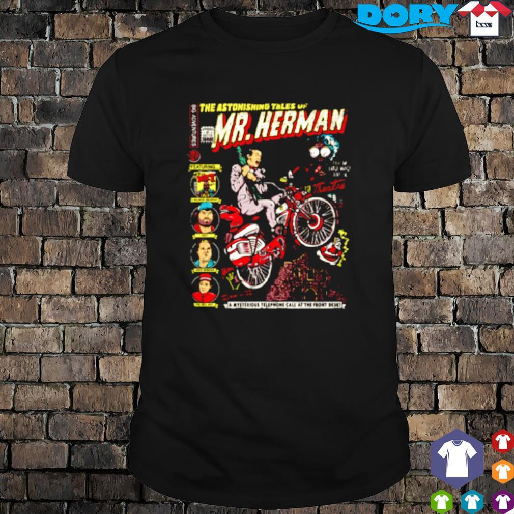 The astonishing tales of Mr Herman shirt
