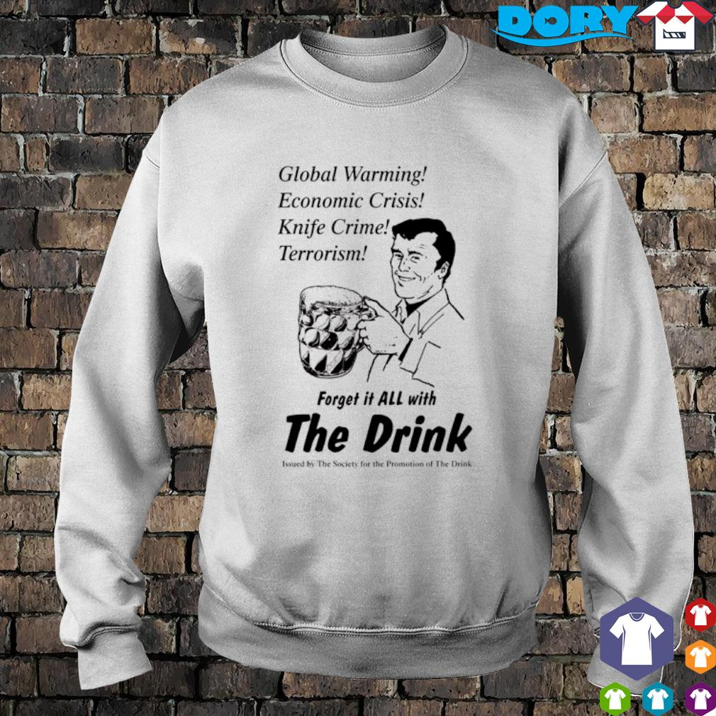Global warming economic crisis knife crime terrorism s sweater