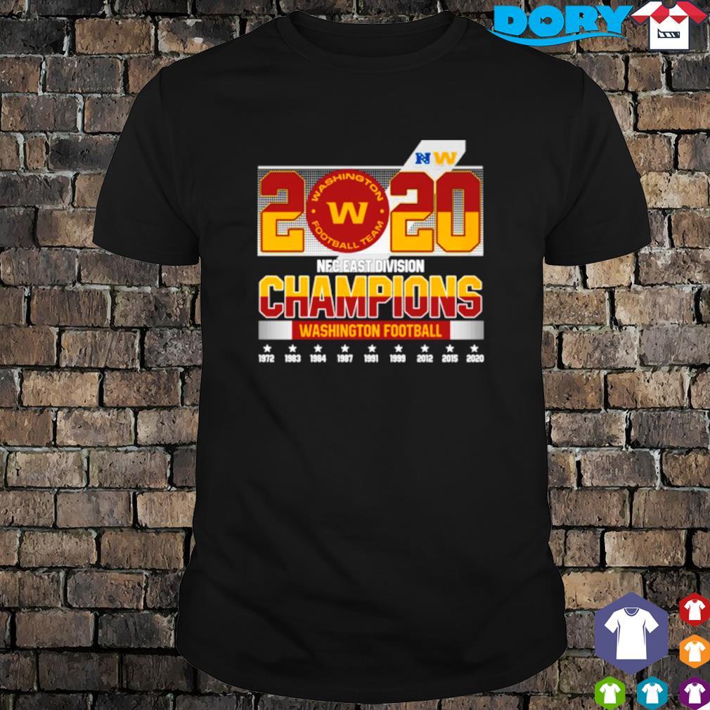 2020 NFC east division champions Washington Football team shirt