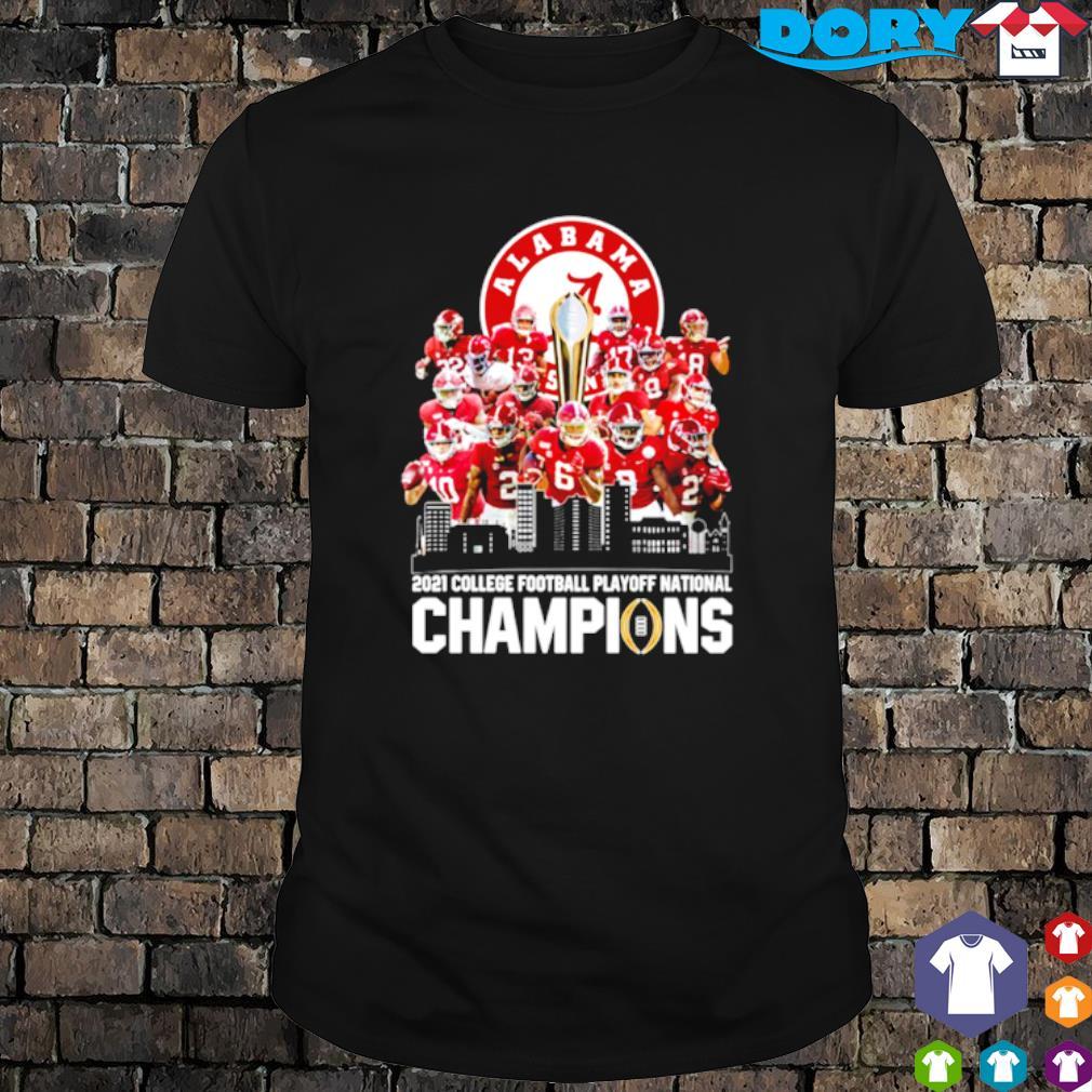 Alabama 18 time national champions 2021 college football playoff shirt