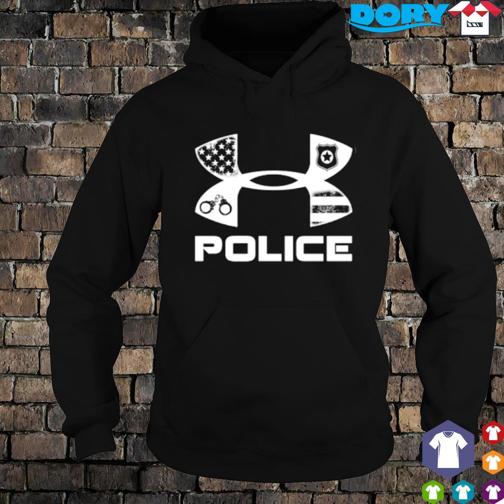 America Police Under Armour s hoodie