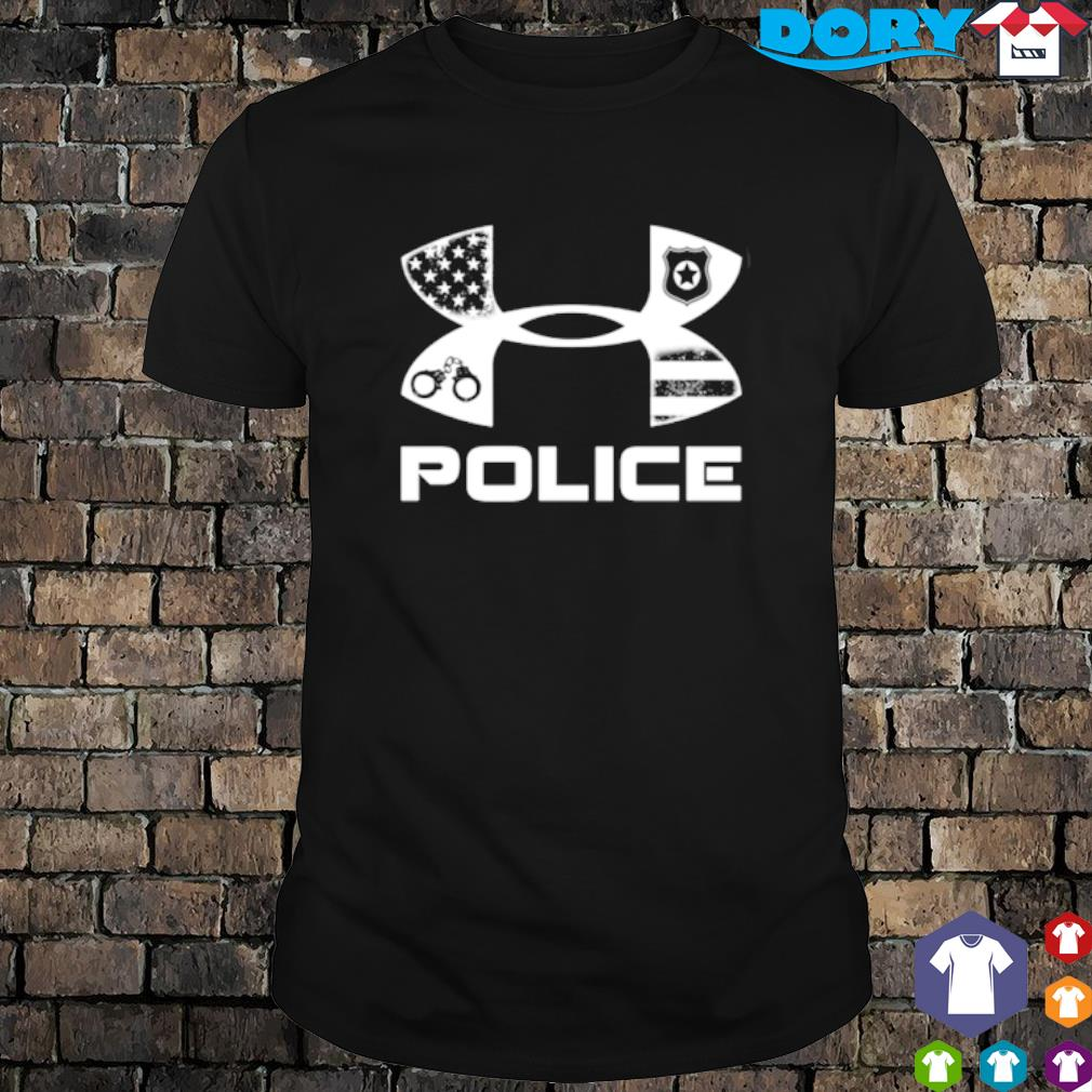 America Police Under Armour shirt