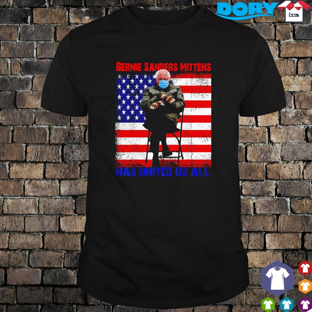 Bernie Sanders mittens has United US all shirt