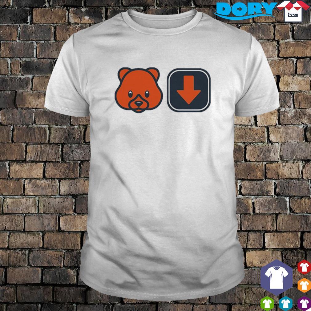 Chicago Bears footbal team Bears down shirt
