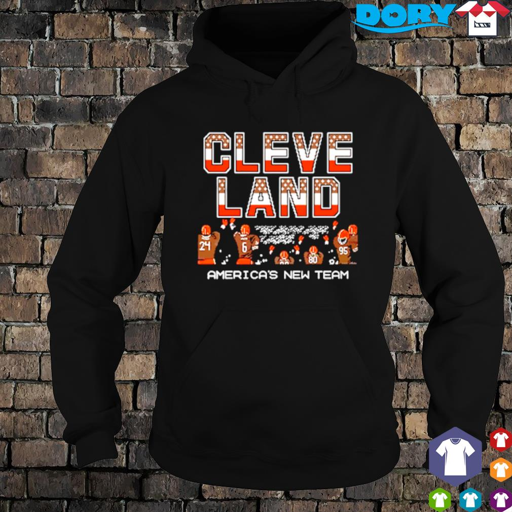 Cleveland Browns America's new team s hoodie