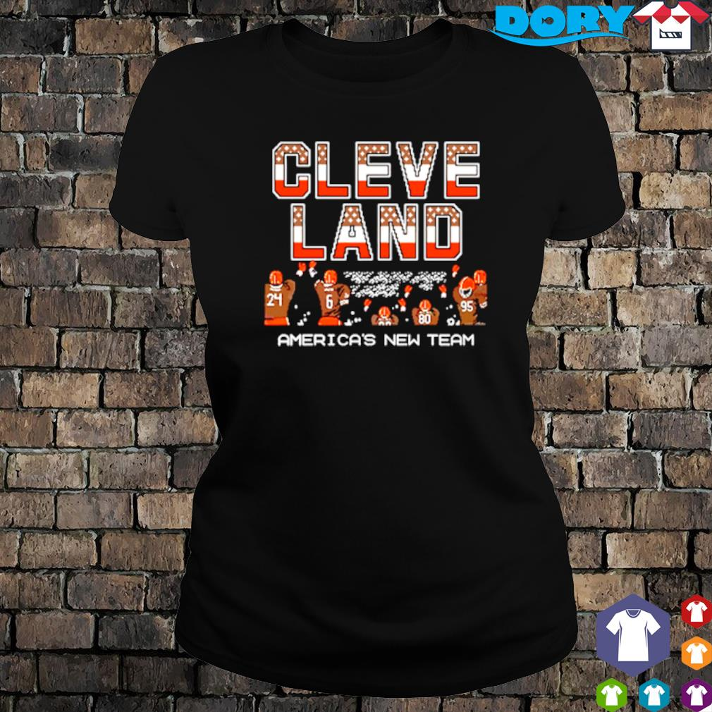 Cleveland Browns America's new team s ladies tee