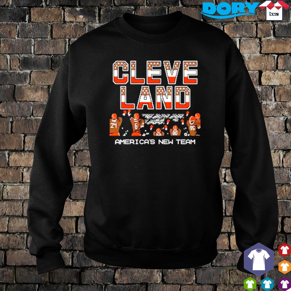 Cleveland Browns America's new team s sweater