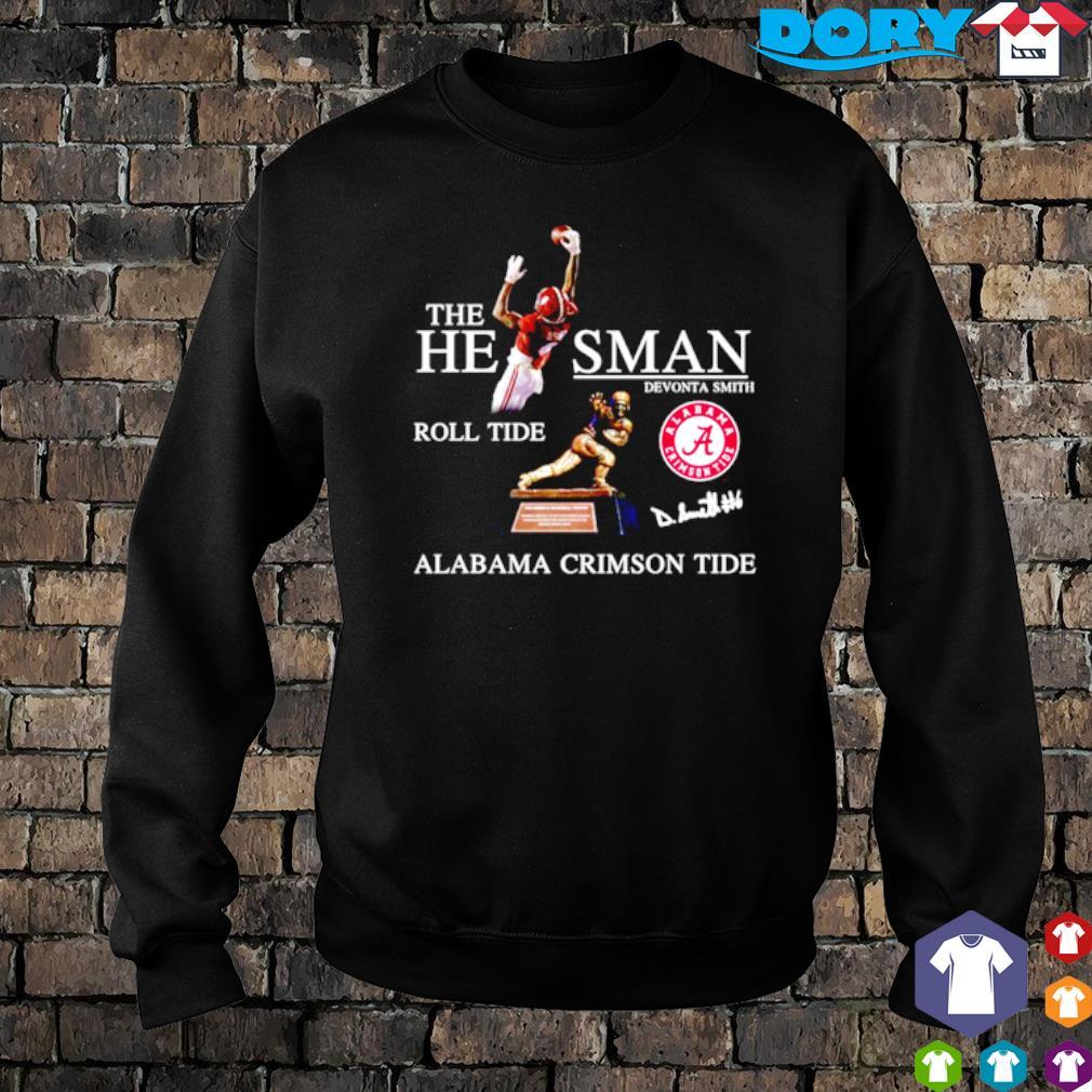 Devonta Smith the heisman roll tide Alabama Crimson Tide s sweater