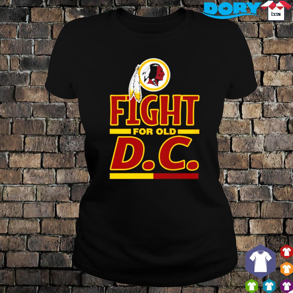 Fight for old DC Washington Redskins s ladies tee