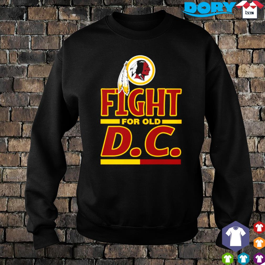 Fight for old DC Washington Redskins s sweater
