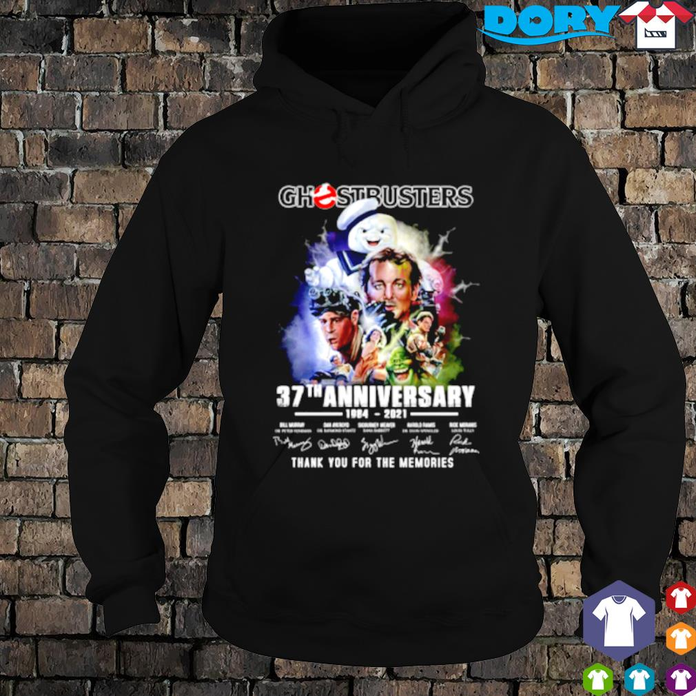 Ghostbusters 37th Anniversary 1984 2021 signature s hoodie