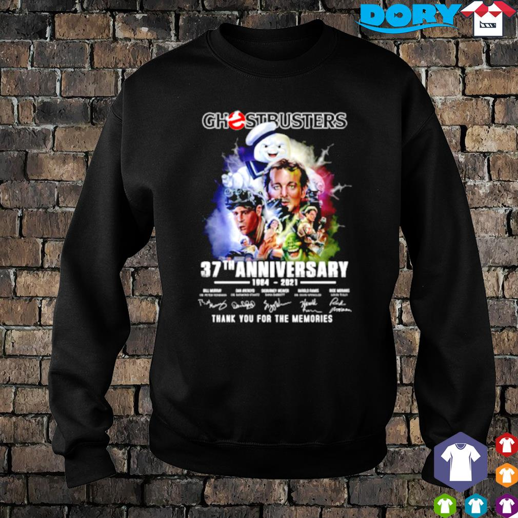 Ghostbusters 37th Anniversary 1984 2021 signature s sweater
