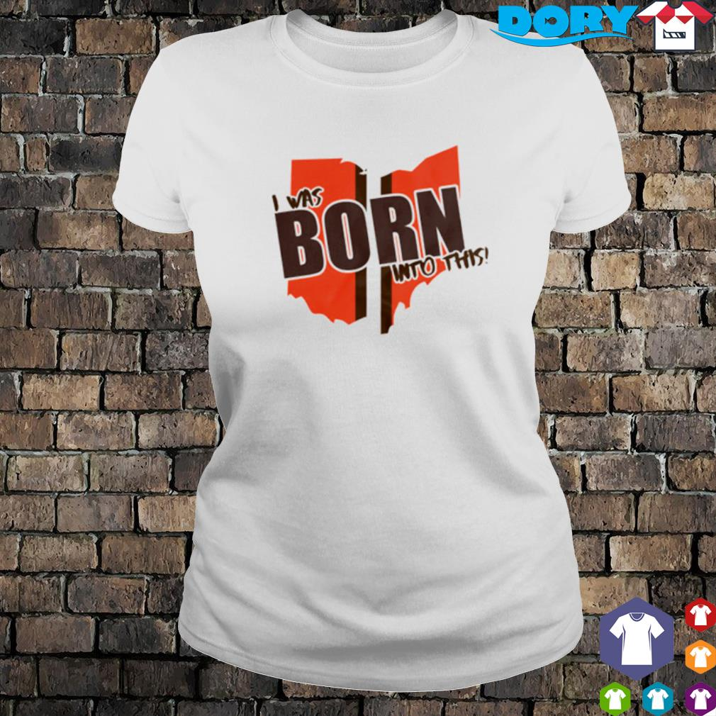I was born into this s ladies tee