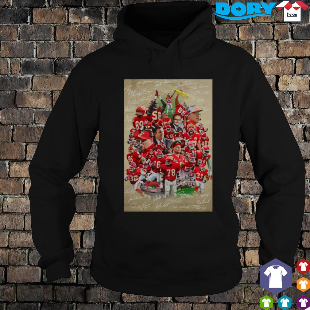 Kansas City Chiefs best players signature s hoodie