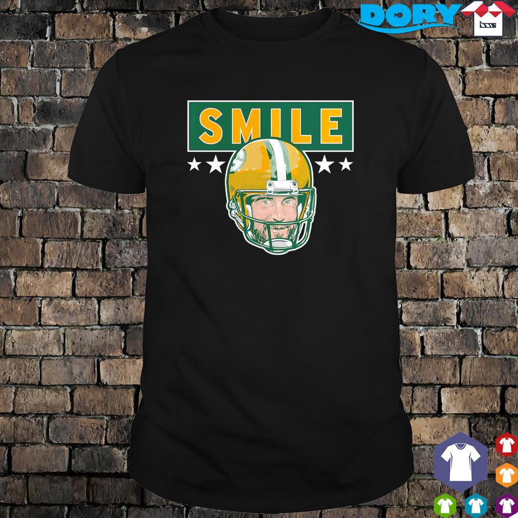Packers Aaron Rodgers smile shirt