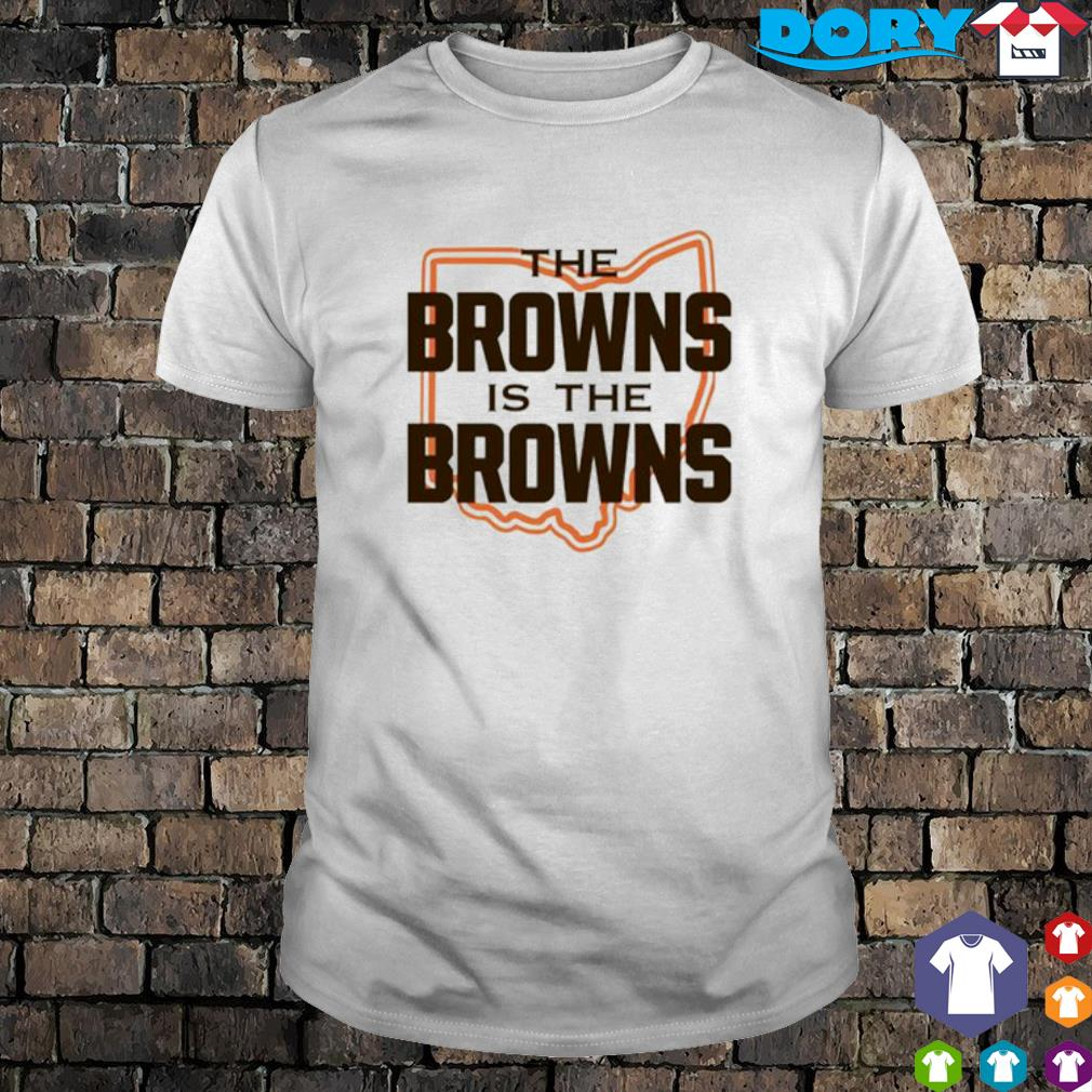 The Browns is The Browns AFC North division champions Cleveland Browns shirt