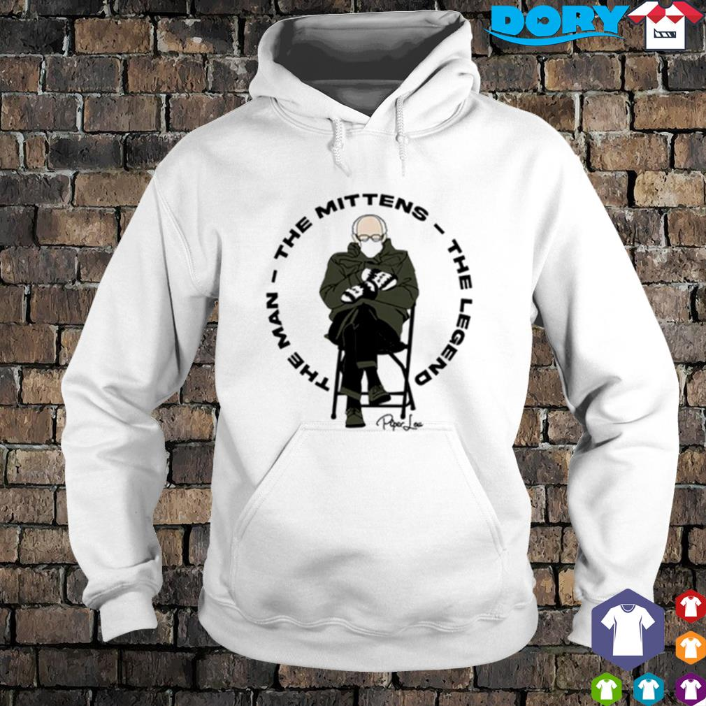 The man the mittens the legend Bernie Sanders s hoodie