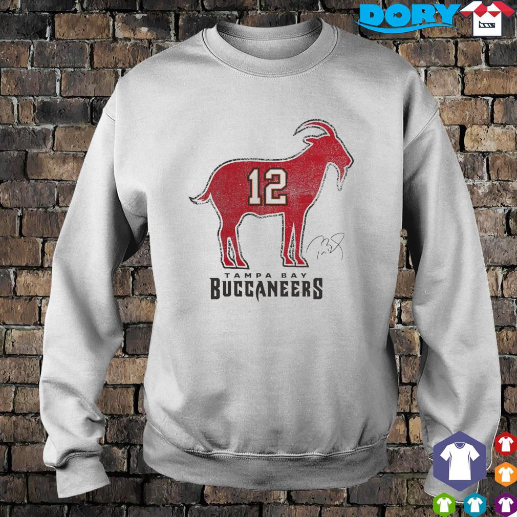 Tom Brady 12 Tampa Bay Buccaneers The Goat s sweater